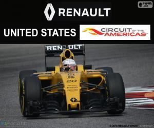 Układanka Kevin Magnussen, GP Stanów Zjednoczonych 16