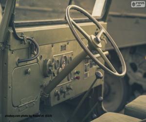 Układanka Kierownica Jeepa Willysa