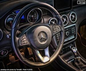 Układanka Kierownica Mercedes-Benz