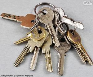Układanka Kilka kluczy