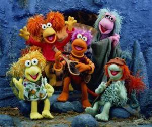 Układanka Kilka Muppets śpiewu