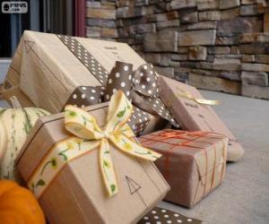 Układanka Kilka prezenty