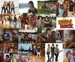 Układanka Kilka zdjęć z Camp Rock
