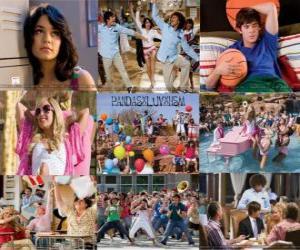 Układanka Kilka zdjęć z High School Musical 2