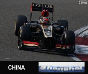 Układanka Kimi Räikkönen - Lotos - 2013 chiński Grand Prix, 2 sklasyfikowane