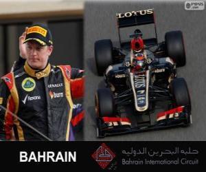 Układanka Kimi Räikkönen - Lotos - 2013 Grand Prix Bahrajnu, 2 ° sklasyfikowane