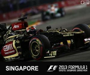 Układanka Kimi Räikkönen - Lotos - 2013 Grand Prix Singapuru, 3 sklasyfikowane