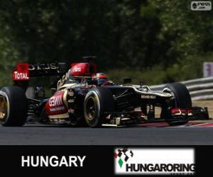 Układanka Kimi Räikkönen - Lotos - Grand Prix Węgier 2013, 2 ° sklasyfikowane