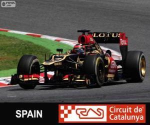 Układanka Kimi Räikkönen - Lotus - Grand Prix Hiszpanii 2013, 2 ° sklasyfikowane