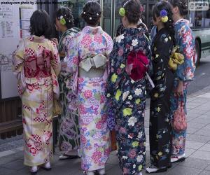 Układanka Kimono