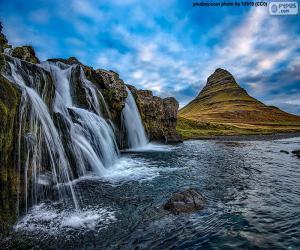 Układanka Kirkjufellsfoss, Islandia