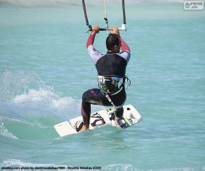Układanka Kitesurfing