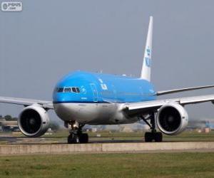 Układanka KLM Royal Dutch Airlines, Holandia