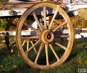 Układanka Koła wózka