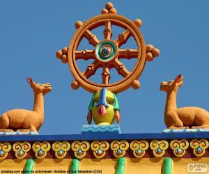 Układanka Koło Dharmy