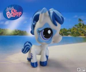 Układanka Koń z Littlest PetShop