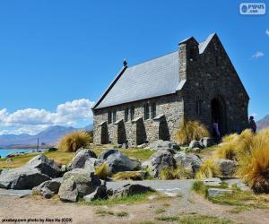 Układanka Kościół Dobrego Pasterza, Nowa Zelandia