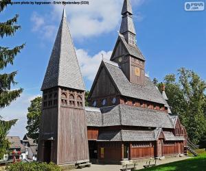 Układanka Kościół z drewna, Niemcy