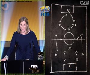 Układanka Kobiet trener Świata FIFA 2015