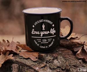 Układanka Kochaj swoje życie