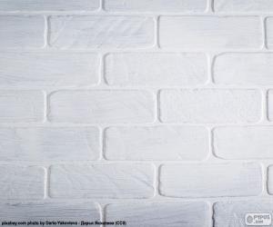 Układanka Kolor biały