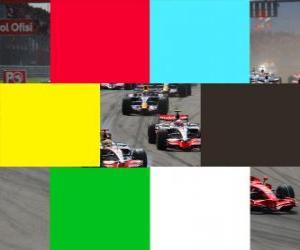 Układanka Kolory flagi F1
