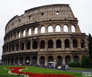 Układanka Koloseum, Rzym