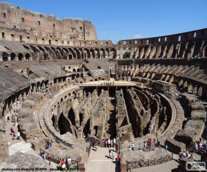 Układanka Koloseum w Rzymie