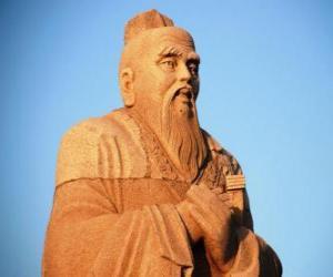 Układanka Konfucjusz, filozof chiński, twórca konfucjanizmu