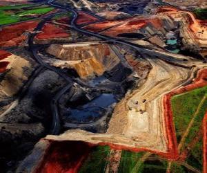 Układanka Kopalnia Węgla w RPA