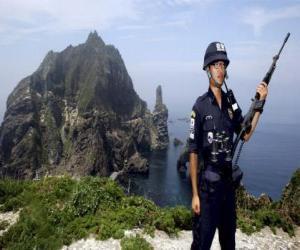 Układanka Koreański Policji