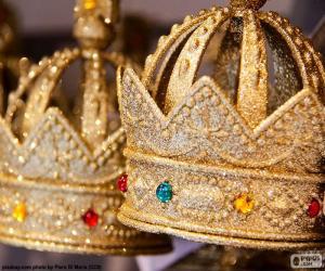 Układanka Koronę króla
