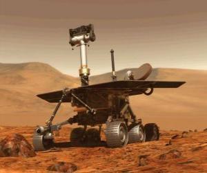 Układanka Kosmiczna pojazdu badań na powierzchni Księżyca