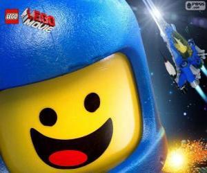 Układanka Kosmonauta Benny filmu Lego