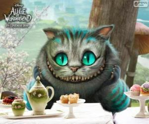 Układanka Kot-Dziwak z Cheshire, Kot z Cheshire