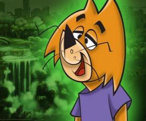 Układanka Kot Hyś jest najmniej inteligentne gang Top Cat