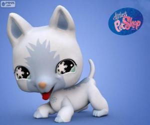 Układanka Kot z Littlest PetShop