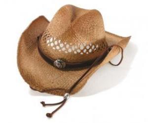 Układanka kowbojski kapelusz