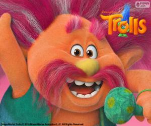Układanka Král Peppy, przywódca trolli