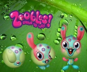 Układanka Królik Zooble z Petagonia