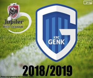 Układanka KRC Genk, mistrz 2018 2019 r.