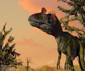 Układanka Kriolofozaur, jest powszechnie znane jako Elvisaurus, więc podobna fryzura popularna gwiazda pop Elvis Presley.