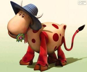 Układanka Krowa Euralia, jedną z postaci z Magiczna karuzela