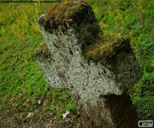 Układanka Krzyż kamienny