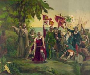 Układanka Krzysztofa Kolumba mieczem bierze w posiadanie nowych ziem