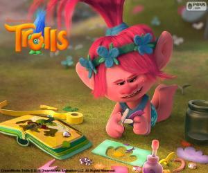 Układanka Księżniczka Poppy, trolle