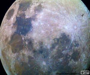 Układanka Księżyc