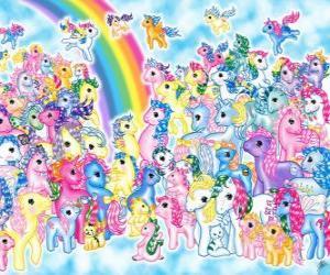 Układanka Kucyki Pony - My little Pony