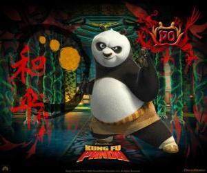 Układanka Kung Fu Panda