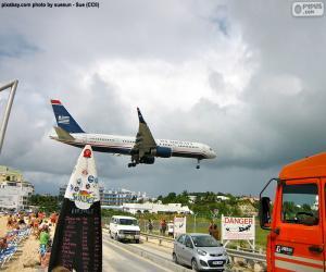 Układanka Lądowania w Sint Maarten